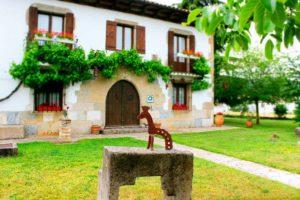 Rural house Navarra Mertxenea. Facade