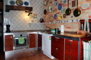 Rural house Navarra Mertxenea. Kitchen