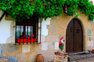 Maison rurale Navarra Mertxenea. Entrée