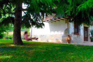 Maison rurale Navarra Mertxenea. Jardin