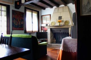 Rural house Navarra Mertxenea. Dining room