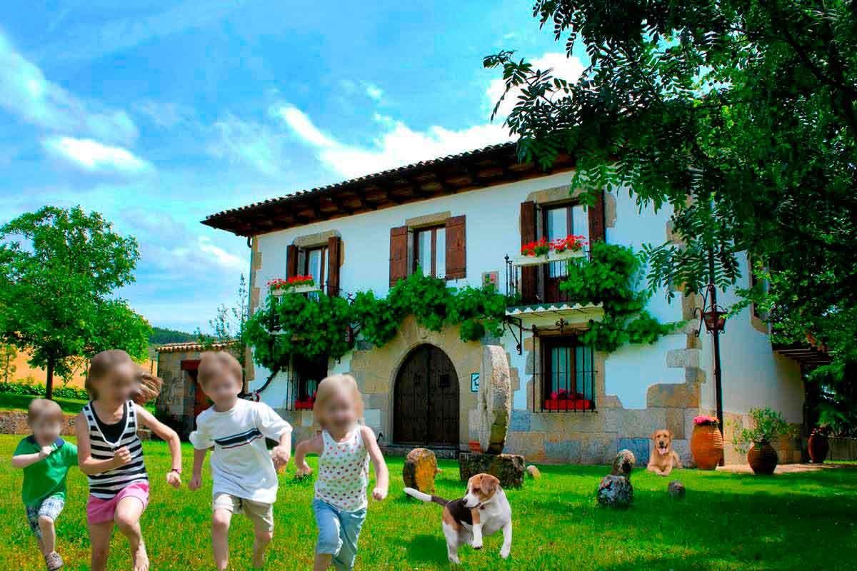 Casa rural con mascotas, Mertxenea