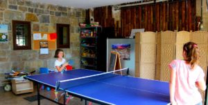Rural houses with children, Mertxenea. Ping Pong